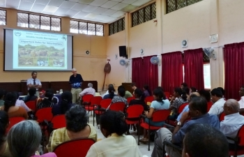 WHHNP Workshop Role of Vets in Wildlife Health